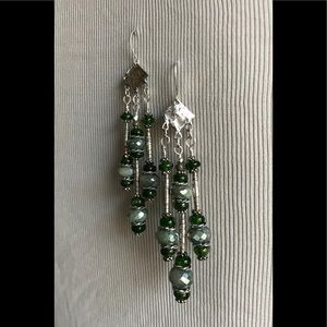 Sterling Silver & Gemstone Earrings